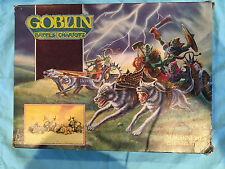 Citadel metal Warhammer Goblin Battle Chariots in box OOP 1980's