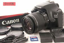 Canon 1100D DSLR Camera + *IS* Lens + 2GB + More *Low Shot Count*  *FREE P&P*