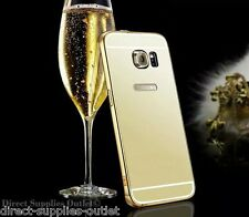 Luxury Aluminum Ultra-thin Mirror Metal Case Cover For Samsung Galaxy S6/S6 Edge