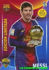 072B MESSI ARGENTINA FC.BARCELONA CARD EDITION LIMITED MEGACRACKS 2016 PANINI