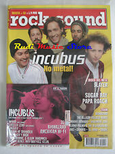 rivista ROCK SOUND 42/2001 +CD Incubus +POSTER Slipknot Travis Sugar Ray Verdena