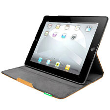 NEW SWITCHEASY CANVAS IPAD 2 3 SOFT TOUGH FLIP FOLIO CASE COVER STAND TAN BROWN