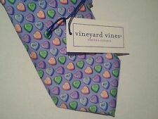 Vineyard Vines Silk Tie NWT $85.00 Printed Candy Hearts, GREAT GIFT!!