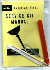 NEW! MOTOR CLEANING and TUNEUP KIT for American Flyer S HO O Gauge Scale Trains