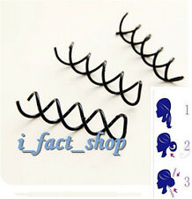 10pcs Flexible Metal Spiral Spin Screw Pin Hair Clip Styling Twist Barrette IF