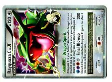 PROMO POKEMON DP xx N° DP47 RAYQUAZA C LV.X Attaque 200 (Card in Mint Condition)