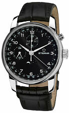 NIB Eterna Soleure Triple Date Chronograph w Moonphase, Authorized Dealer,10 Pic