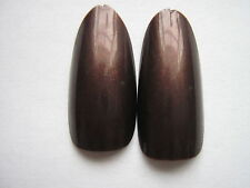 50 x  BRONZE  FULL OVAL HEAD/ ROUND STILETTO WHOLE NAIL