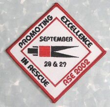 """Promoting Excellence in Rescue Patch - Jaws of Life -  4 1/8"""" x 4 1/8"""""""