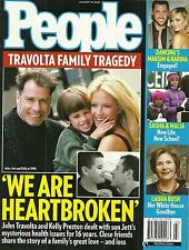 John Travolta, Laura Bush, Bristol Palin, Ne-Yo January 19, 2009 People Magazine