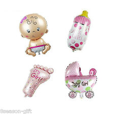 Gift 4PC Mixed Mini Foil Balloons Infant Birthday Party Decoration For Children