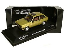 Ford Fiesta in Gold Metallic Bj 1976 1:43 Minichamps 400085100 NEU & OVP