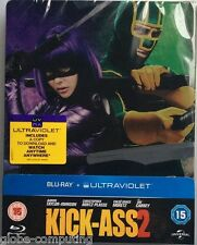 Kick Ass 2 Steelbook - UK Edizione Limitata Blu-ray Steel Libro