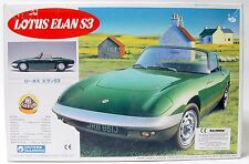 Lotus Elan S3 1:24 Scale Gunze Sangyo Model Kit | Complete Boxed Condition.