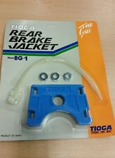 Tioga old school bmx nos rear brake jacket trick piece  blue