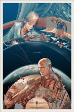 Elysium Poster - Mondo - Variant - AP - Limited Edition of 31