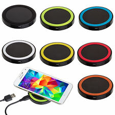 Qi Wireless Battery Charger Power Charging Pad for Apple iPhone 6 / 6 Plus 7 5S