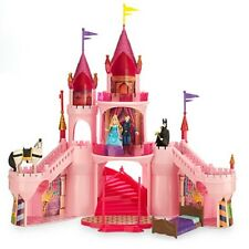 DISNEY SLEEPING BEAUTY AURORA DELUXE CASTLE PLAYSET
