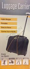 Luggage Carrier Portable Light Weight Carries Up To 60 Lbs. Easy To Store NIB