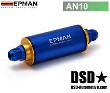 Universal - Kraftstofffilter, Benzinfilter auswaschbar Motorsport AN10 Dash 10