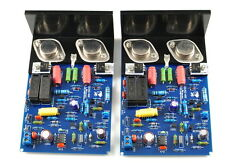 LJM QUAD405 CLONE MJ15024 stereo 100W+100W completed board +heatsink