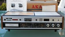 AKAI CR-80-SS STEREO & QUADRAPHONIC 8 TRACK PLAYER RECORDER AMPLIFIER  WORKING