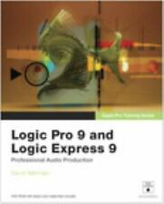 Apple Pro Training Series: Logic Pro 9 and Logic Express 9, Nahmani, David, Good