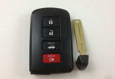 TOYOTA CAMRY AVALON 12-16 OEM SMART KEY LESS ENTRY REMOTE WITH UNCUT INSERT 0020