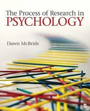 The Process of Research in Psychology, McBride, Dawn M., Acceptable Book