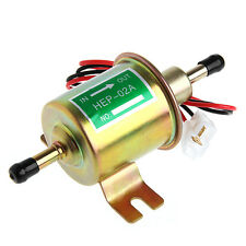 12V Electric Positive Earth Fuel Pump Facet Cylinder Style Car Van Universal
