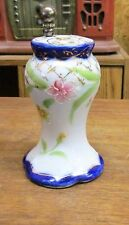 Antique Marked Nippon Cobalt Handpainted Hat Pin Holder