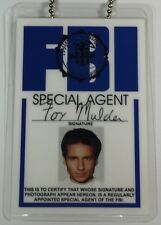 Special Agent Fox Mulder / FBI Neck Chain ID Novelty / X-Files