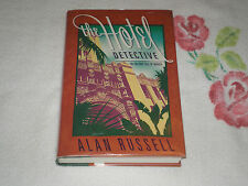 The Hotel Detective by Alan Russell   **SIGNED**