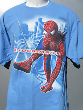 Spiderman 2 Movie Size XL  T Shirt Promo Dr Pepper Super Hero Spider Man rare 04