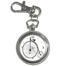 PENNY FARTHING BICYCLE KEYCHAIN WATCH **GREAT GIFT ITEM**