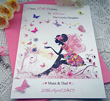 Personalised Handmade Birthday Daughter Niece Granddaughter 10th 9th 8th 7th