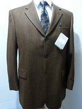 Ermenegildo Zegna by Coppley, Three Button Sport Coat, Brown, 44L , NWT