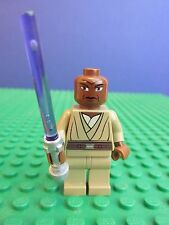 genuine LEGO STAR WARS rare MACE WINDU minifigure JEDI clone wars set 363