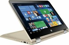 "HP Pavilion x360 13-u063na 13.3"" 2 in 1 Touchscreen 8GB 2.3Ghz Laptop Gold"