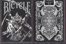 1 DECK Bicycle BLACK Asura playing cards