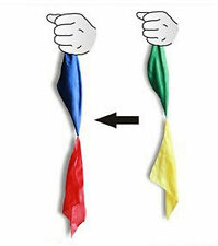 Magic Trick Changing Colour Silk Scarf For Magic Tricks Joke Excellent Trick