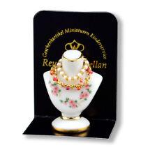 Reutter Porzellan Schmuckbüste Jewelry Bust Puppenstube 1:12 Art. 1.910/0