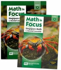 7th Grade Math in Focus Semester 1 7A Student Teacher Edition Course 2 Kit 7