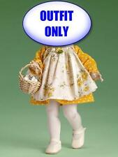 "Tonner Patsy Rise and Shine 10"" Doll Outfit Yellow Dress Egg Basket NEW on CARD"