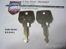 Key Blank for Peugeot 505 1980 to 1984 - AMC GTA, Renault LeCar & 118  (RN24)