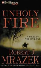 Unholy Fire, Mrazek, Robert, Acceptable Book