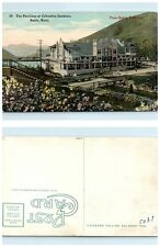 Early 1900s Butte Montana Colombia Garden From Seeing Butte Car VINTAGE POSTCARD