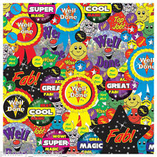 CP30 - 658 Metallic & Holographic Stickers Teachers Primary Teaching Services