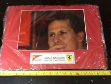 Michael Schumacher F1 Ferrari Photo Display 7 Times Champion A3 Not Signed