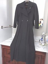 Slightly Used Vintage Louis Feraud Long Wool Coat  SZ 4 W Germany  Party Event